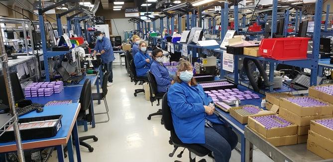 Inventus Power Staff Builds Medical Batteries