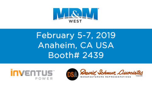 MDM West 2019 - Visit Inventus Power & DSA at Booth # 2439