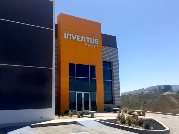 Inventus Power Facility TJ Mexico