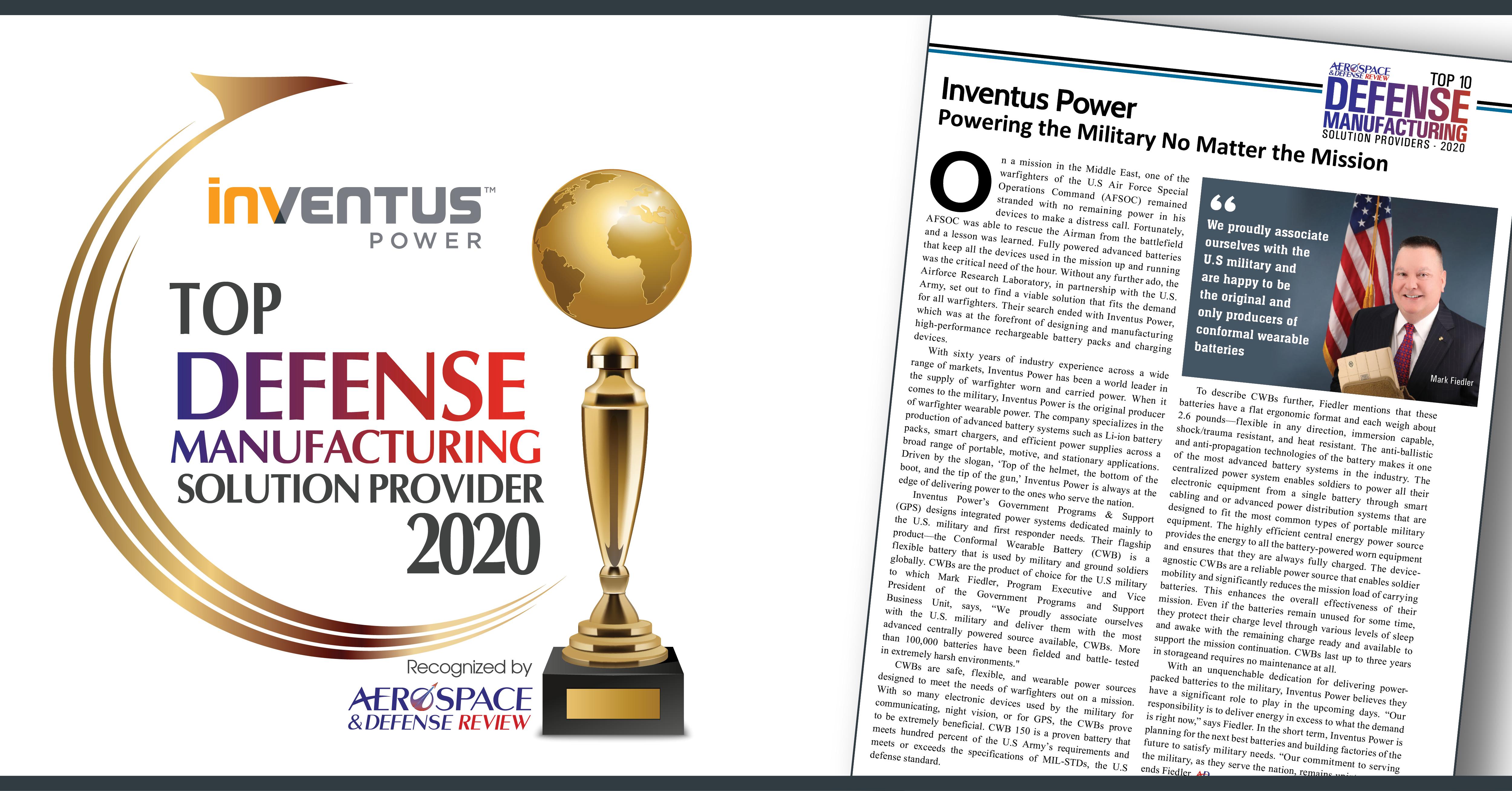 Inventus Power_Aerospace Defense_V1