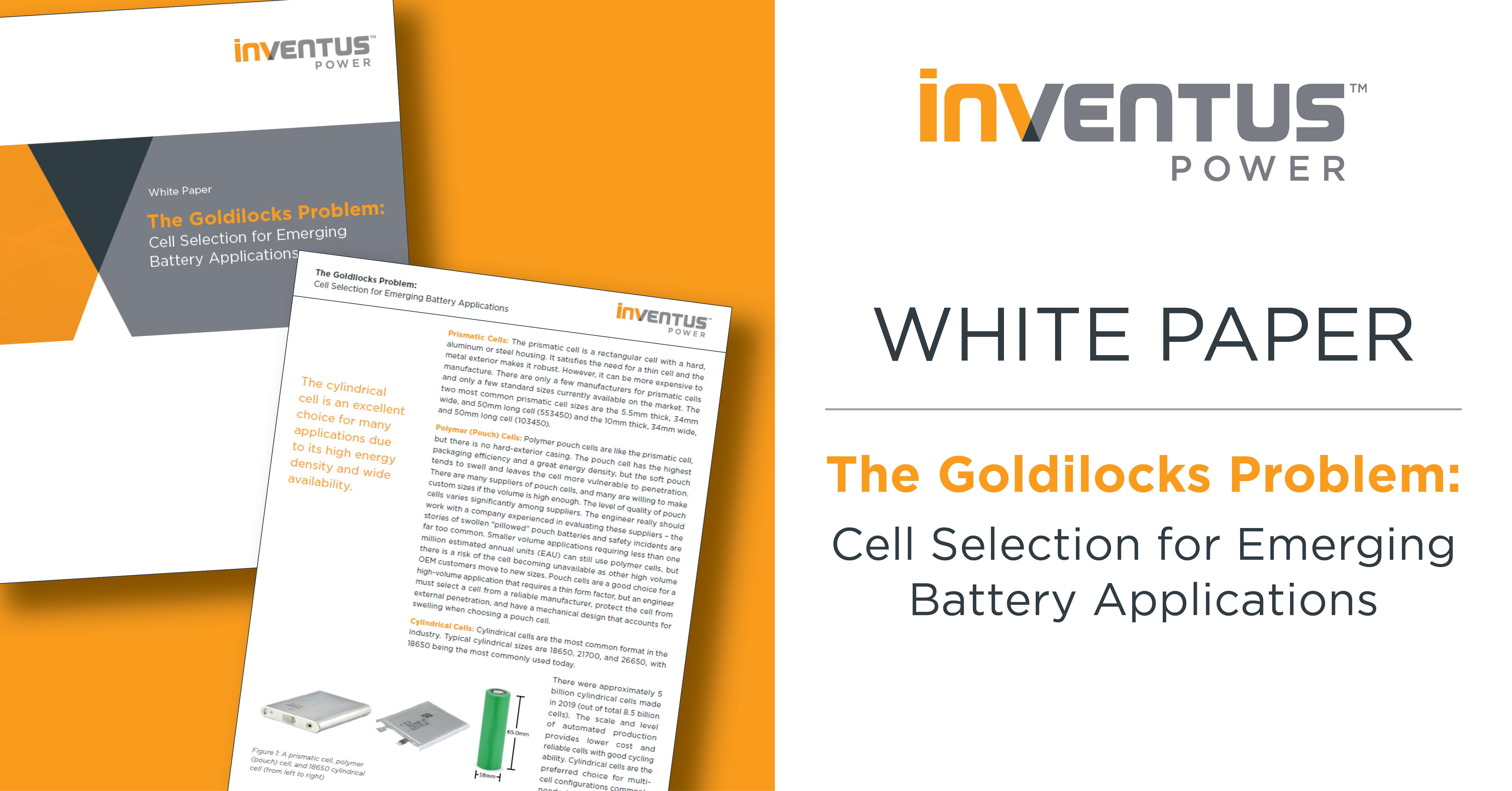 Inventus Power_White Paper_Goldilocks 2020_V1