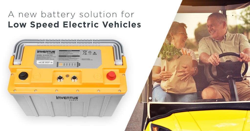 Inventus Power PROTRXion batteries for LSEV